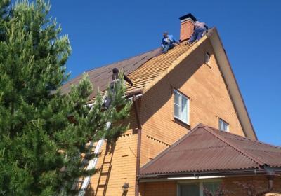 Кровельные работы в Московской области под ключ